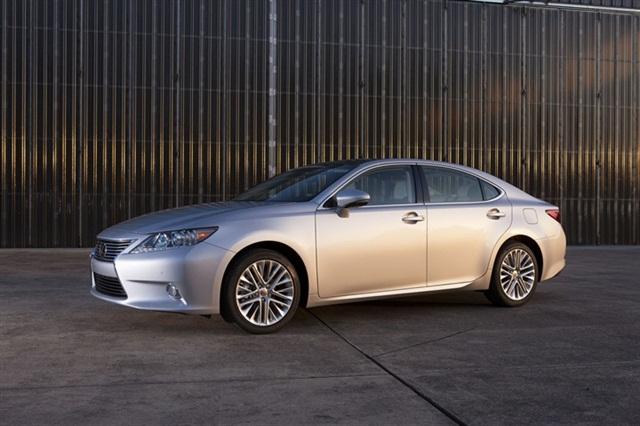 The 2013-MY Lexus ES 350