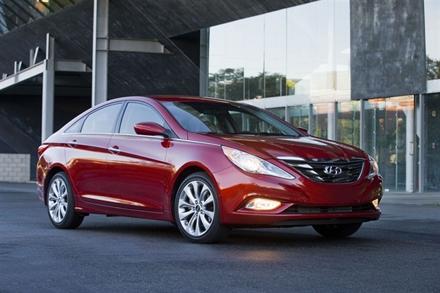 The 2013-MY Hyundai Sonata