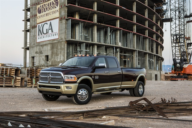 The new 2013 Ram Heavy Duty line features best-in-class towing and best-in-class Gross Combined Weight Rating (GCWR), according to Chrysler.