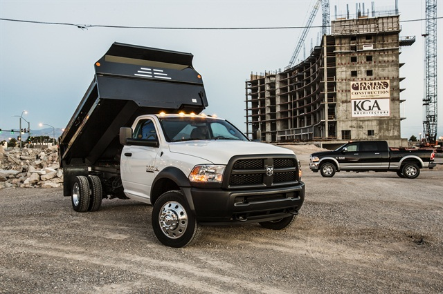 The 2013-MY Ram Chassis Cab 5500.