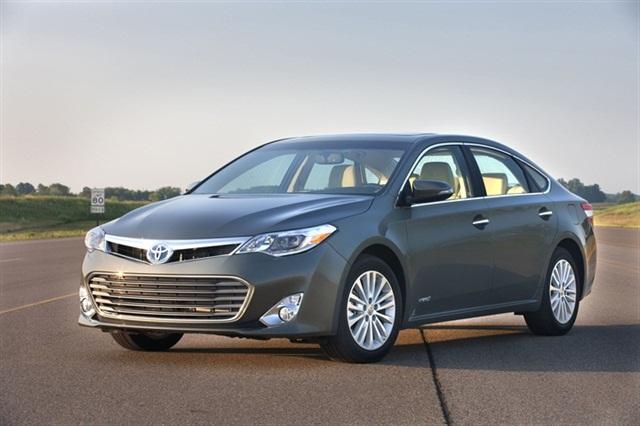 2013-MY Toyota Avalon