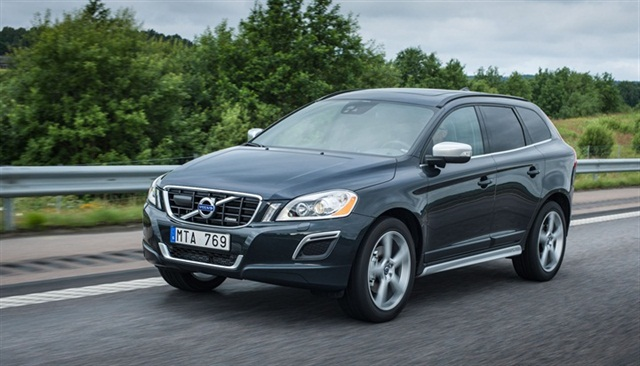 The 2013-MY Volvo XC60, one of the models with this new feature.