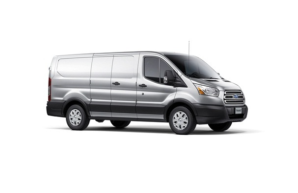 The short wheelbase, short-roof version of the Transit.