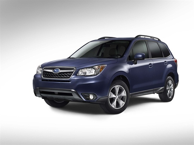 The 2014-MY Subaru Forester.