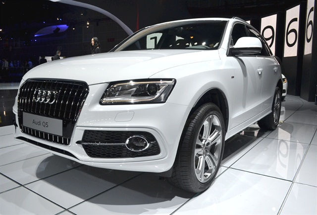 Photo by Joanne TuckerAudi showed the 2014-MY Q5 and its other new TDI models at the 2012 LA Auto Show.
