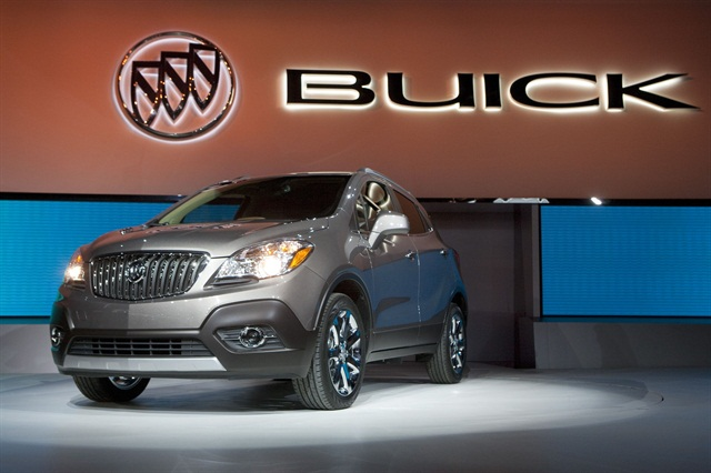 Gm shows new 2013 buick encore news business fleet for General motors cars brands