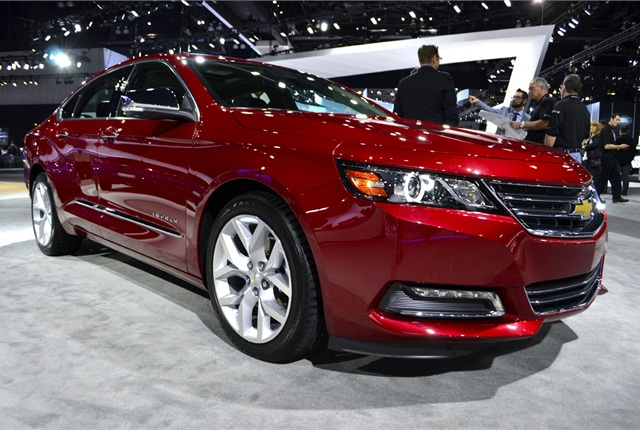 The Chevrolet Impala will feature the next generation of GM's MyLink infotainment system.