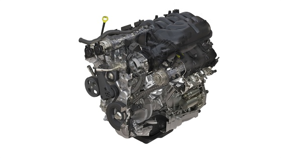 The new 3.6L Pentastar V-6 can deliver up to 21 mpg, 285 horsepower (209 kW), and 260 lb.-ft. of torque.