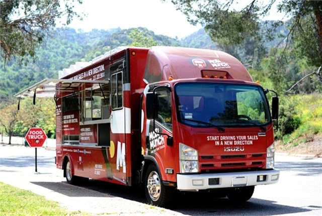 Food trucks by mobi munch inc., have been placed into service on