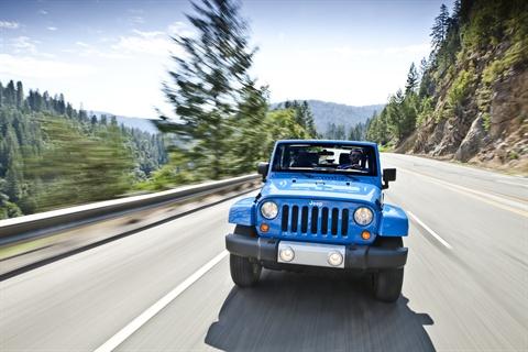 The 2012-MY Jeep Wrangler.