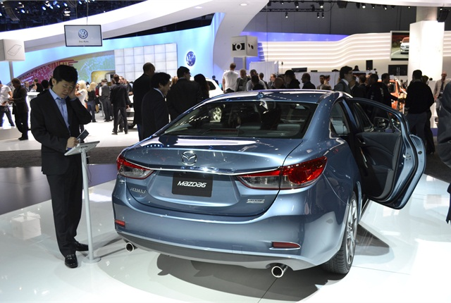 Mazda plans to sell the 2014-MY Mazda6 with the clean diesel engine in the second half of 2013.