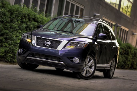 The 2013-MY Nissan Pathfinder.