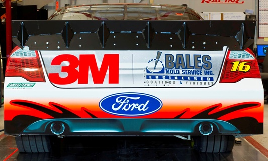 Bales Mold Service Inc. had the chance to win $1 million if Greg Biffle had won the race on Sept. 6.