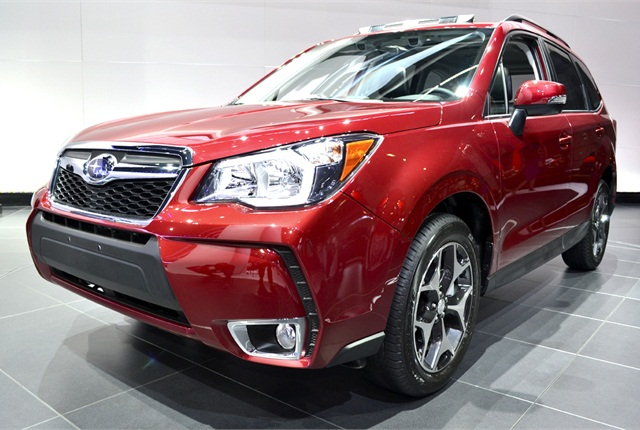 Photos by Joanne TuckerThe 2014-MY Subaru Forester at the LA Auto Show.