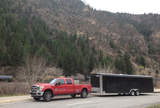 Venchurs offers both CNG-dedicated and bi-fuel conversions of Ford Super Duty trucks as a QVM for Ford Motor Co.