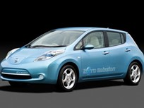Nissan Unveils Electric Car