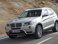BMW to Launch All-New X3 Sports Activity Vehicle at Year's End