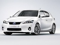 Lexus Introduces CT 200h Premium Compact