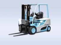 Toyota Develops Hydrogen Fuel Cell Lift Truck