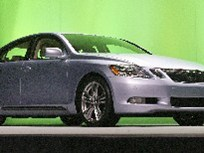 First Look: Lexus GS 450h Hybrid Luxury Sedan