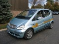 DaimlerChrysler Builds First Fuel Cell-Powered Police Car