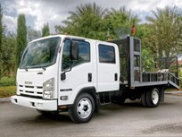 Isuzu N-Series Gas Trucks Available in May