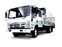 Isuzu Truck Introduces Low Cab Forward, Gas-Powered Crew Cab
