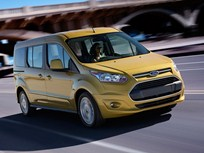 2014 Ford Transit Connect Wagon Earns Highest Overall Safety Rating