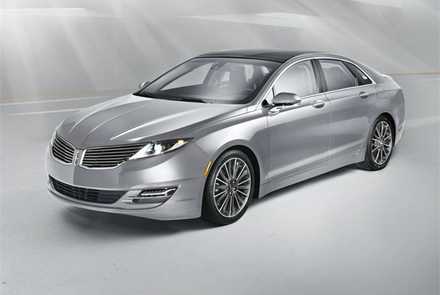 Photo of 2015 Lincoln MKZ courtesy of Ford.