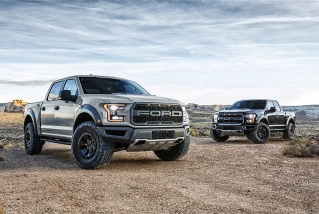 Ford Motor Company will auction an all-new one-of-a-kind 2017 Ford F-150 Raptor for charity at the 46th annual Barrett-Jackson Scottsdale event, in Scottsdale, Ariz.(Photo: Ford Motor Co.)