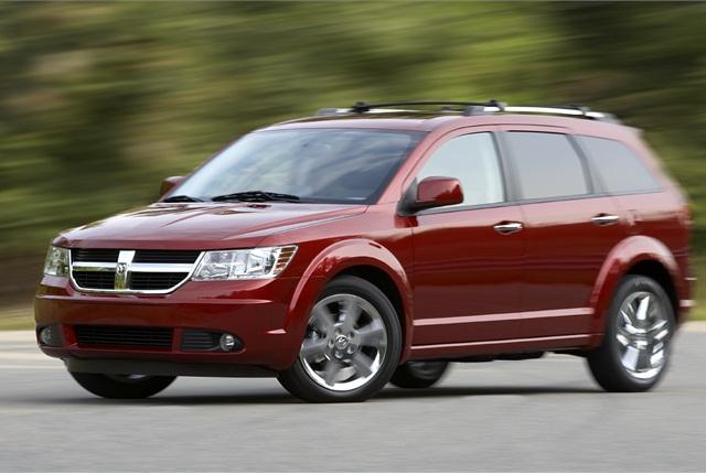 Photo of 2010 Dodge Journey courtesy of Chrysler Group.