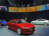 Ford Debuts New Fusion at Detroit Auto Show