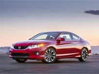 2013 Honda Accord Coupe Draws Five-Star Overall Vehicle Score