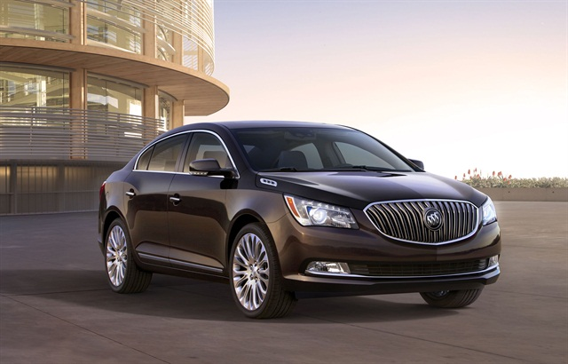 The 2014 Buick LaCrosse offers two engine options, a 2.4L four-cylinder with eAssist or a direct-injected 3.6L V-6.