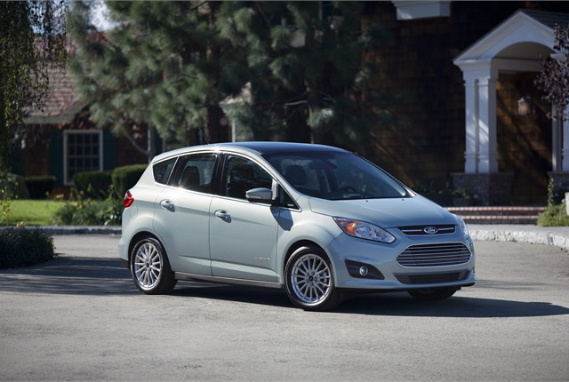 Ford's 2013 C-MAX Hybrid. Photo courtesy Ford Motor Co.