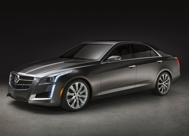 GM's Cadillac all-new 2014 CTS offers three engine choices, including the brand's new Twin-Turbo V-6. Photo courtesy GM.