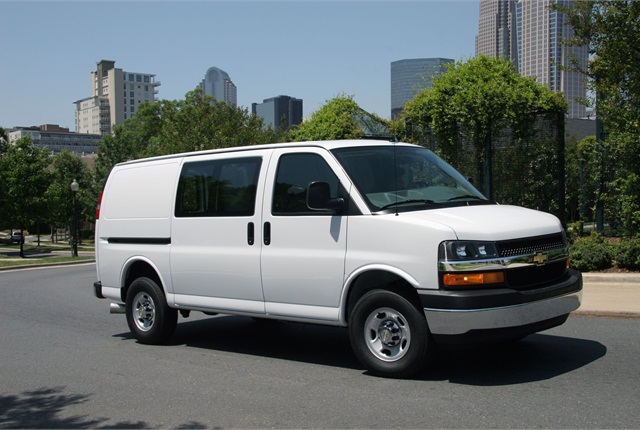 The Chevrolet Express 2500. Photo courtesy GM.