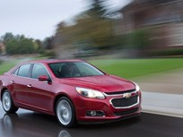 Video: 2014 Chevrolet Malibu Earns Top Safety Score