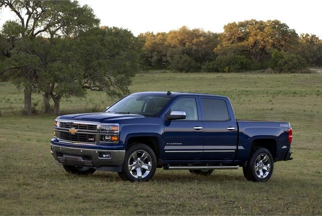 Photo of 2014 Chevrolet Silverado truck courtesy of General Motors.