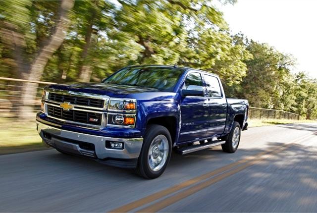 2014 Chevrolet Silverado. Photo courtesy of General Motors.