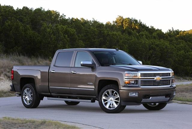 2014 Chevrolet Silverado. Photo copyright: General Motors.