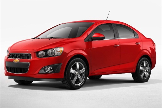 Photo of 2014 Chevrolet Sonic courtesy of General Motors.