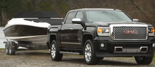The 2014 GMC Sierra offers an enhanced trailering package.