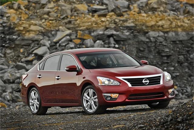 The 2014-MY Nissan Altima. Photo courtesy Nissan.