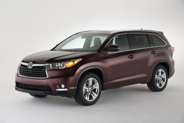 2014 Toyota Highlander. Photo courtesy of Toyota.