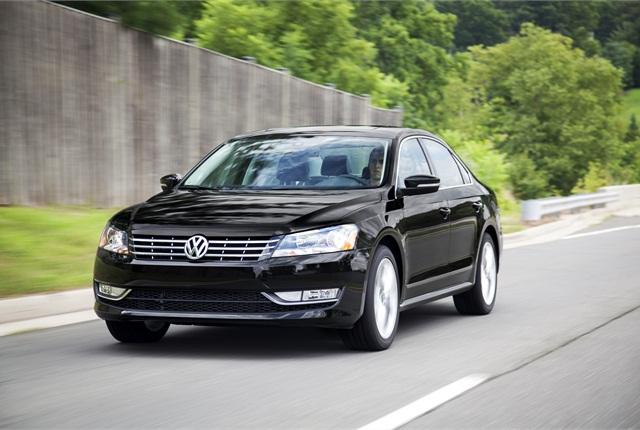2014 Volkswagen Passat photo courtesy of Volkswagen.