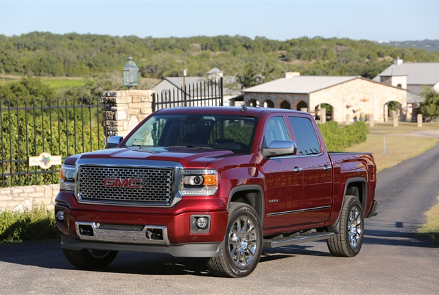 2014 GMC Sierra 1500 (PHOTO: General Motors)