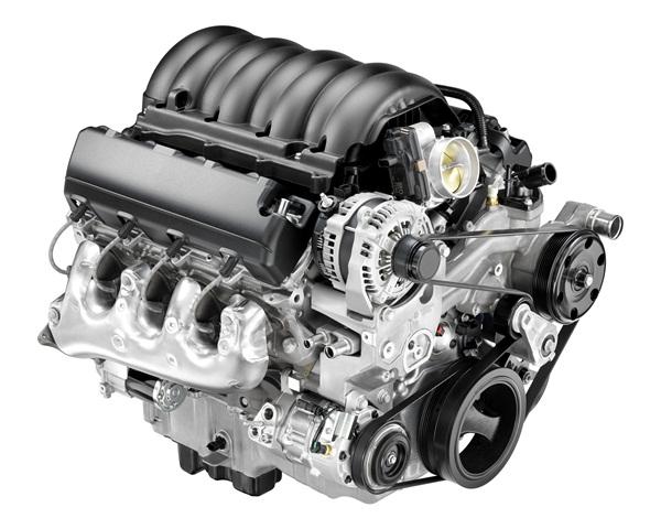 2014 5.3L V-8 EcoTec3 AFM VVT DI (L83) for Chevrolet Silverado and GMC Sierra. (PHOTO: General Motors)