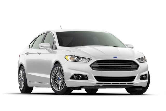 Photo of Ford Fusion courtesy of Ford Motor Co.