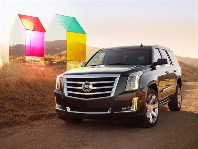 2015 Cadillac Escalade. Photo credit: General Motors